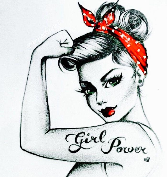 Power up female pop art book
