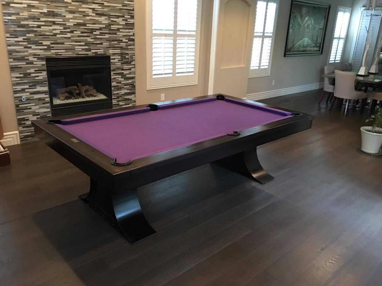 8 Steel Pool Table Furniture Restoration Hardware Inspired Gaming Of Thrones Xane Modern