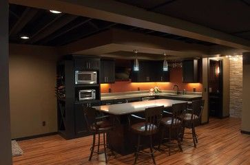 traditional basement small basement remodeling ideas