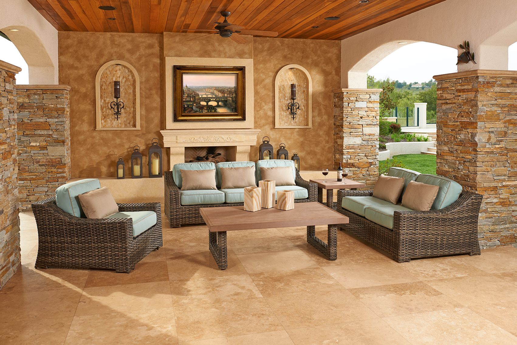 North Cape International Regatta Collection Outdoor Deep Seating - North cape outdoor furniture