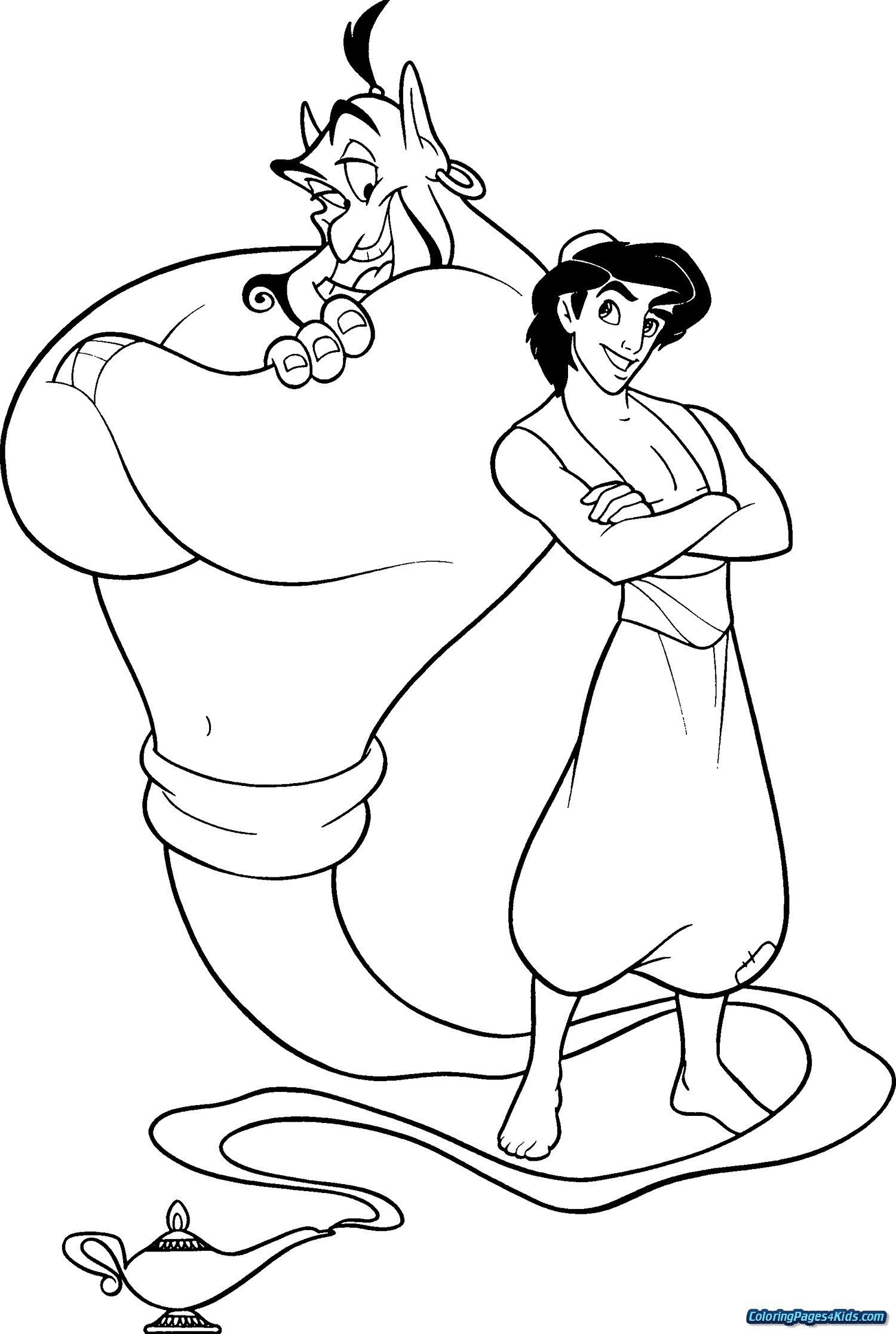 23 Exclusive Picture Of Aladdin Coloring Pages Disney Coloring
