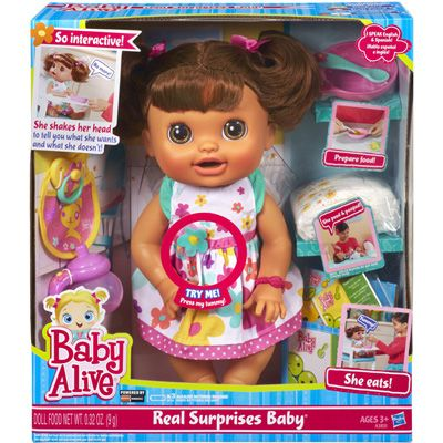 Baby Alive Real Surprises Baby Only 27 99 At Target Save 27 00 Surprise Baby Baby Alive Dolls Baby Dolls