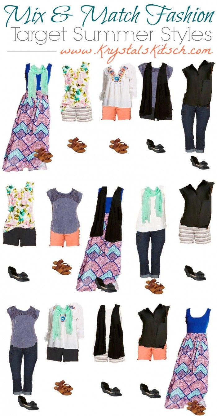 7e62e0aabf Target Summer Fashion | Fashion Ideas | Fashion, Mix, match fashion ...
