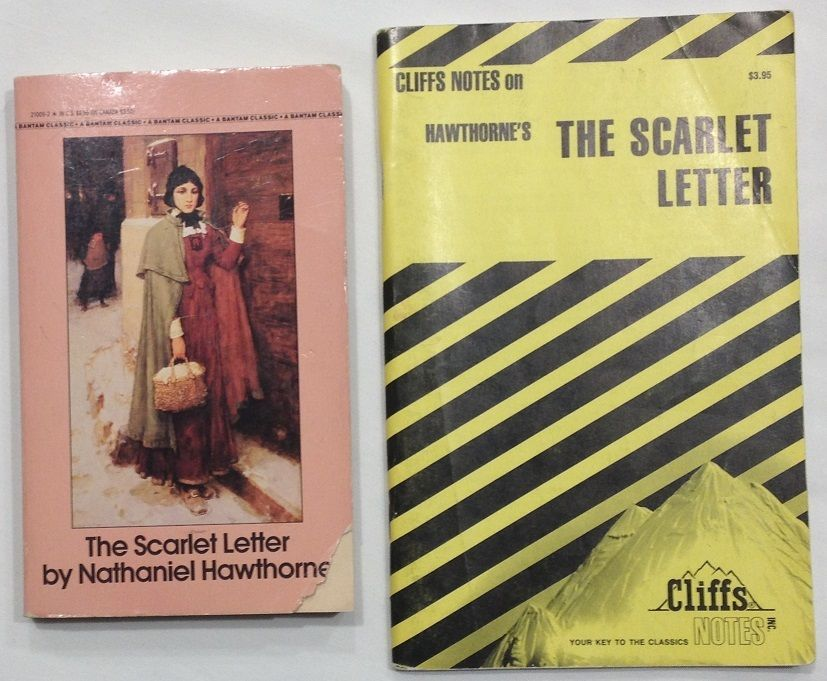 The Scarlet Letter by Nathaniel Hawthorne with Cliffs