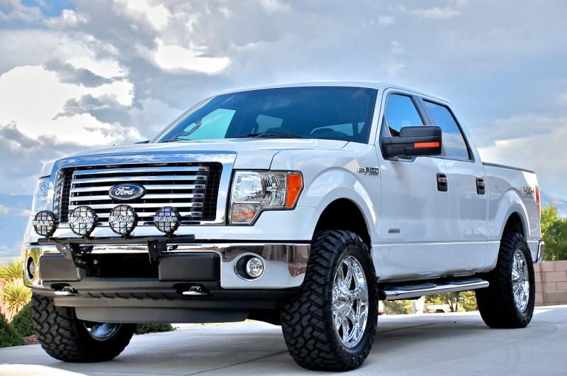 Tasca Ford Parts >> MHT 20x9 Fuel Offroad Chrome Hostage Wheels with +14mm ...