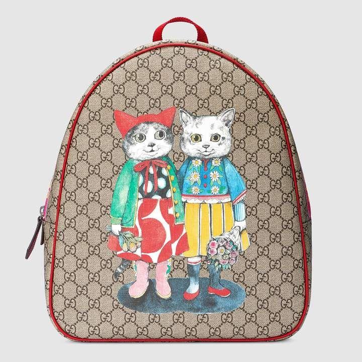 Children s GG kitten friends backpack  437213c5c58c3