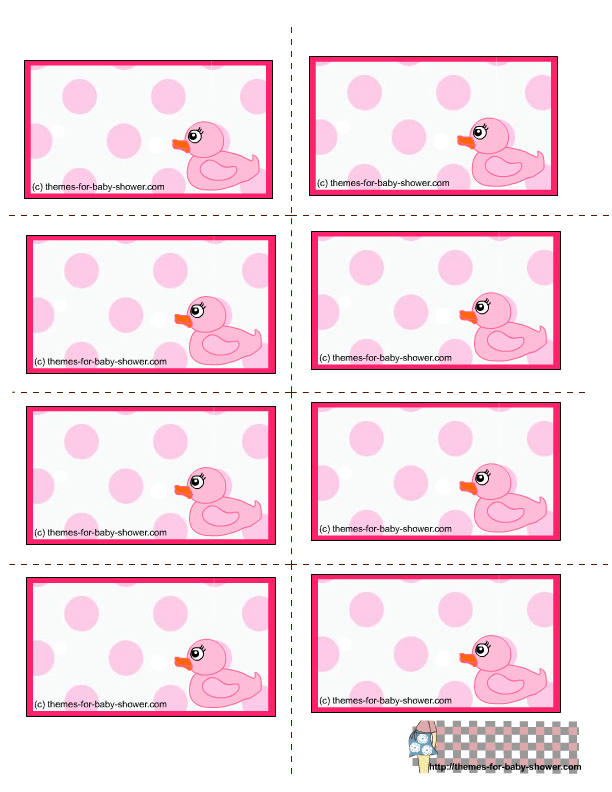 girl-baby-shower-labels-5.png (612×792) | baby shower | Pinterest ...