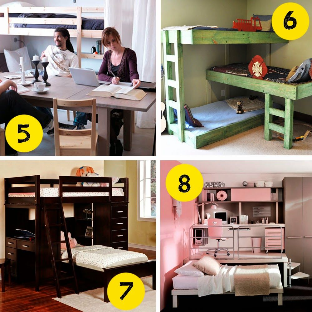 Small and low cost c mo organizar un dormitorio peque o for Como organizar un apartamento muy pequeno