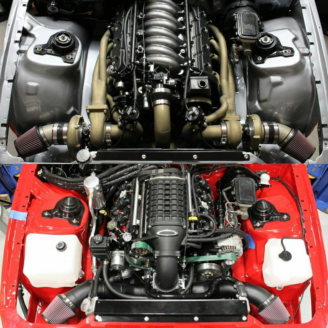 Ls1 Engine Is On: Top Or Bottom? #BecauseSS 408ci LSX Twin Turbo Or LS2 With