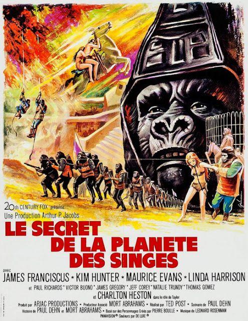 Beneath The Planet Of The Apes 1970 Planeta De Los Simios Cine De Terror Cine Fantastico