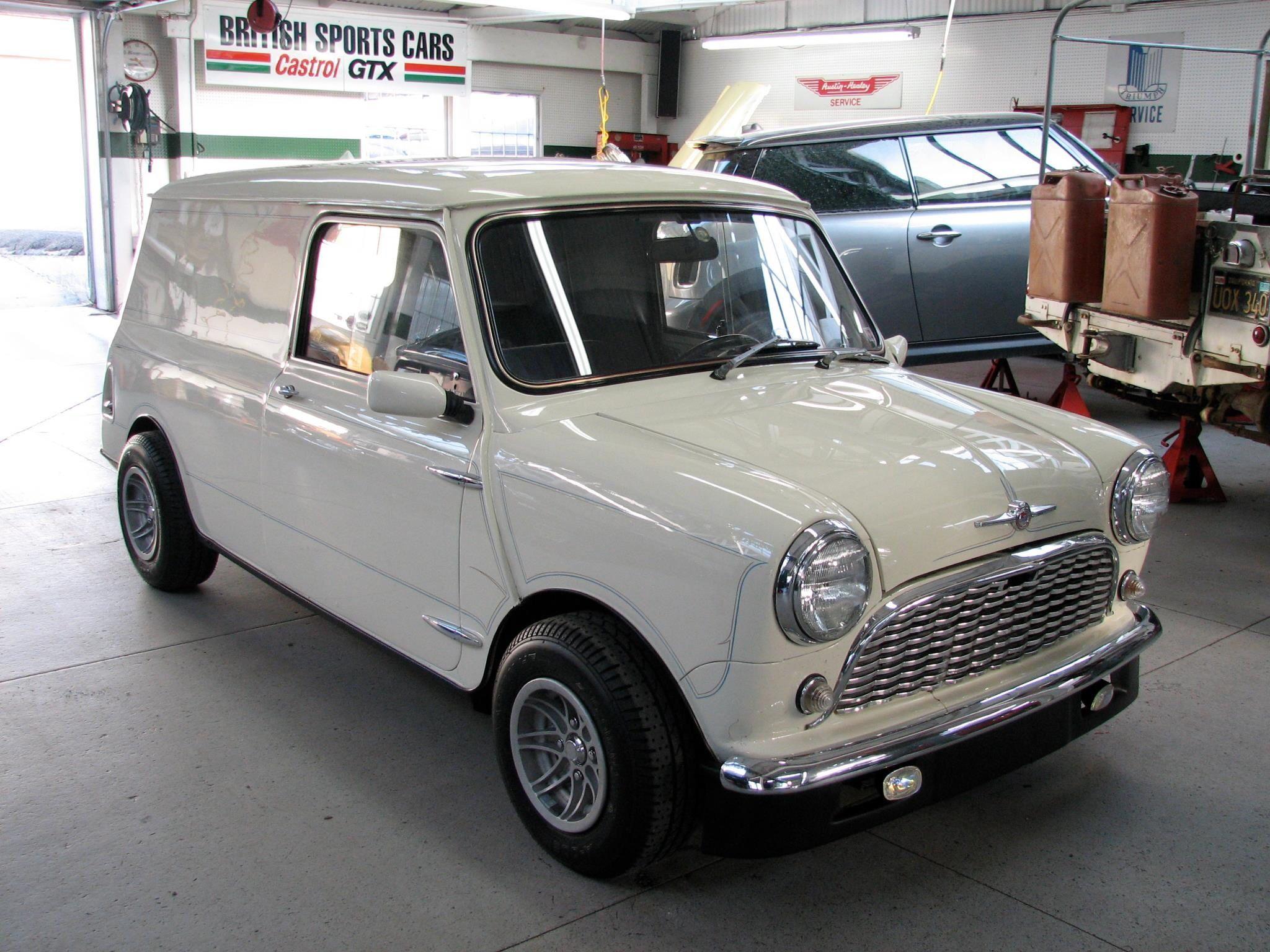 Mini Cooper Van Items Of Greatness Mini Trucks British Sports