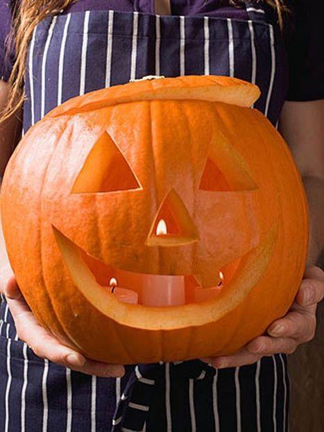 Easy pumpkin carving halloween pinterest