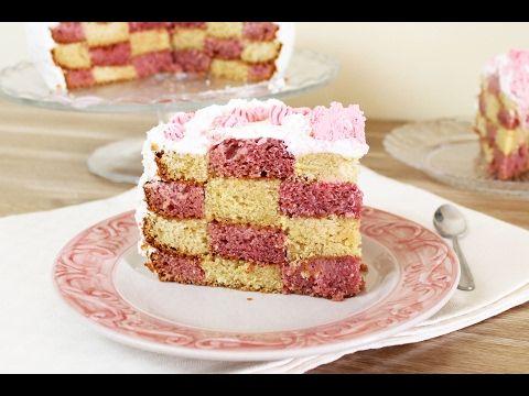 Torta a scacchi ricetta semplice e veloce fatto in for Torta di mele e yogurt fatto in casa da benedetta