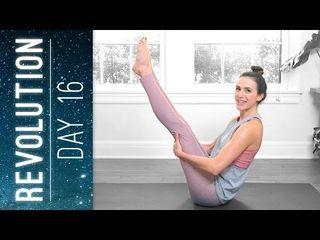 revolution day 16 yoga with adriene  yoga with adriene