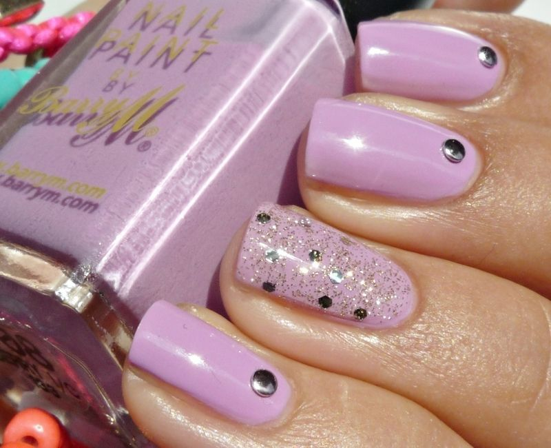Barry M Berry Ice Cream Swatch By Romana (Accent Nail Using Nyc ... Barry M Berry Ice Cream Swatch By Romana (Accent Nail Using Nyc ... Diva Nails diva nails nyc