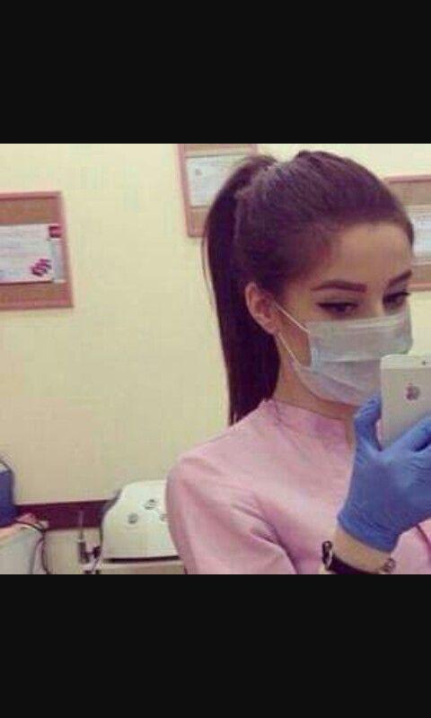 يارب بيوم من الايام اصير دكتورة Beautiful Nurse Medical Assistant Scrubs Stylish Girl Images