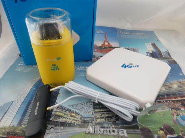 Huawei Wingle E8372h-607 LTE USB WiFi Unlocked modem TS9 4G antenna