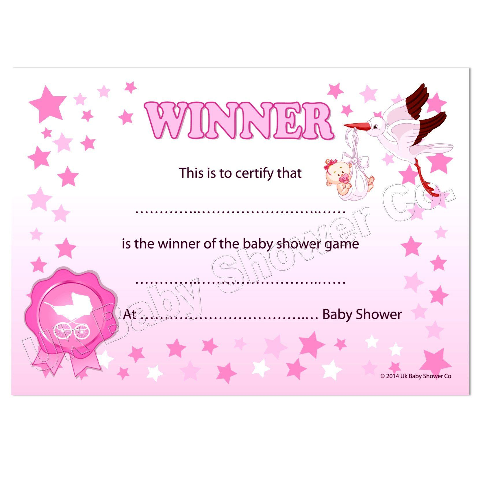 Free Printable Baby Shower Gift Cards Beautiful Ideas Certificate Template Blank
