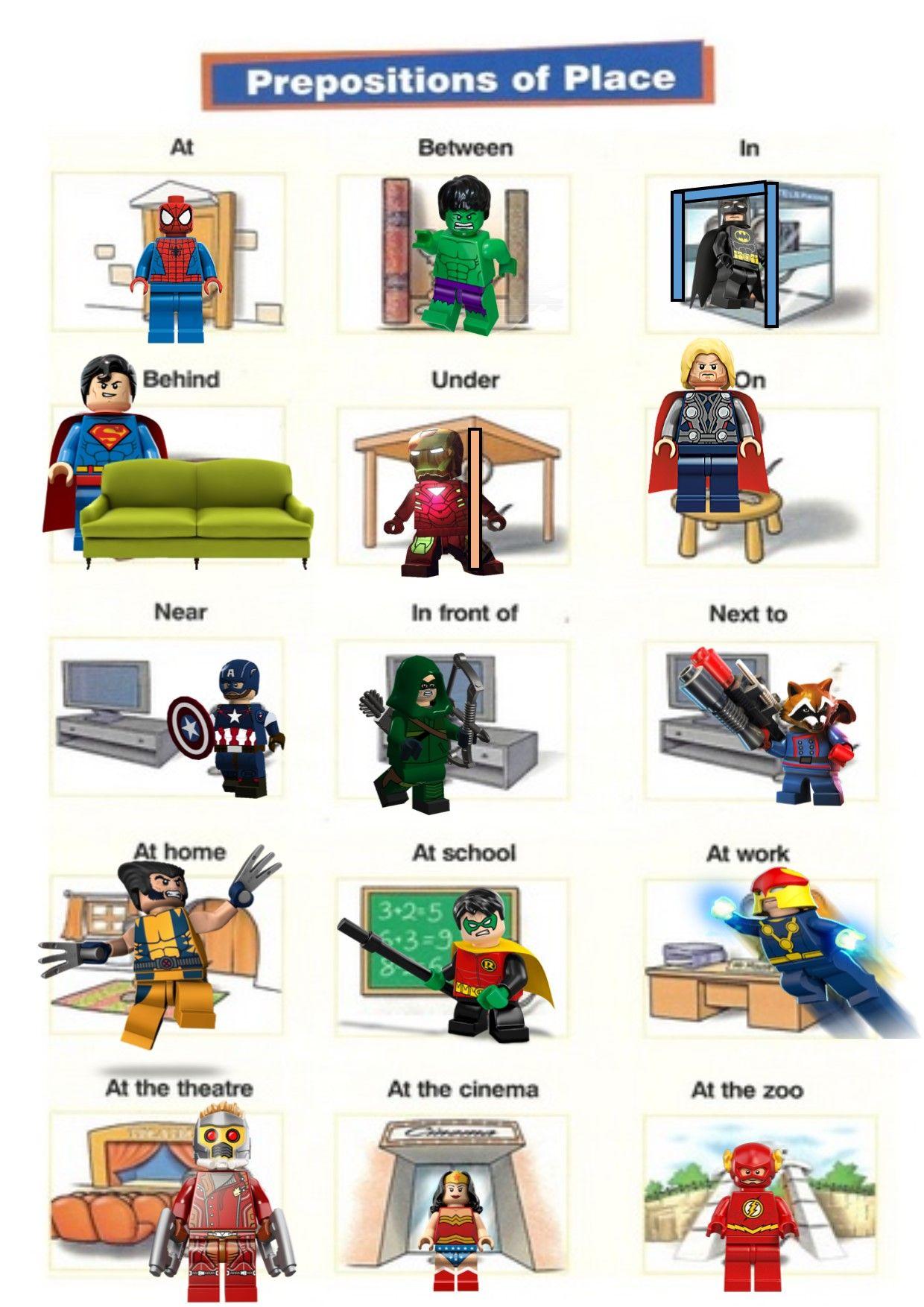 Superhero Preposition