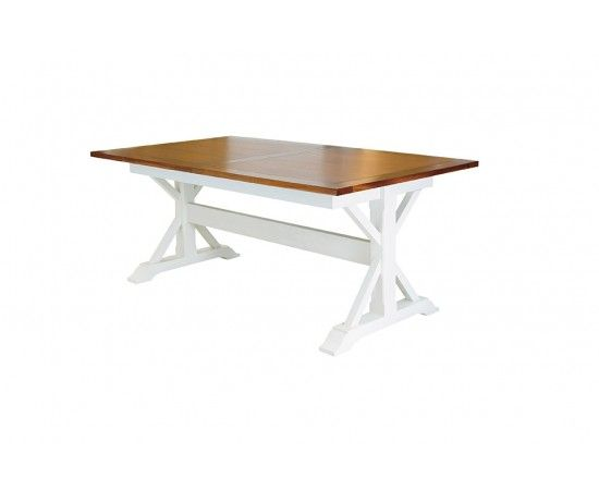 Natural 2m Dining Table bleached elm - $976 (shipping?) | House ...