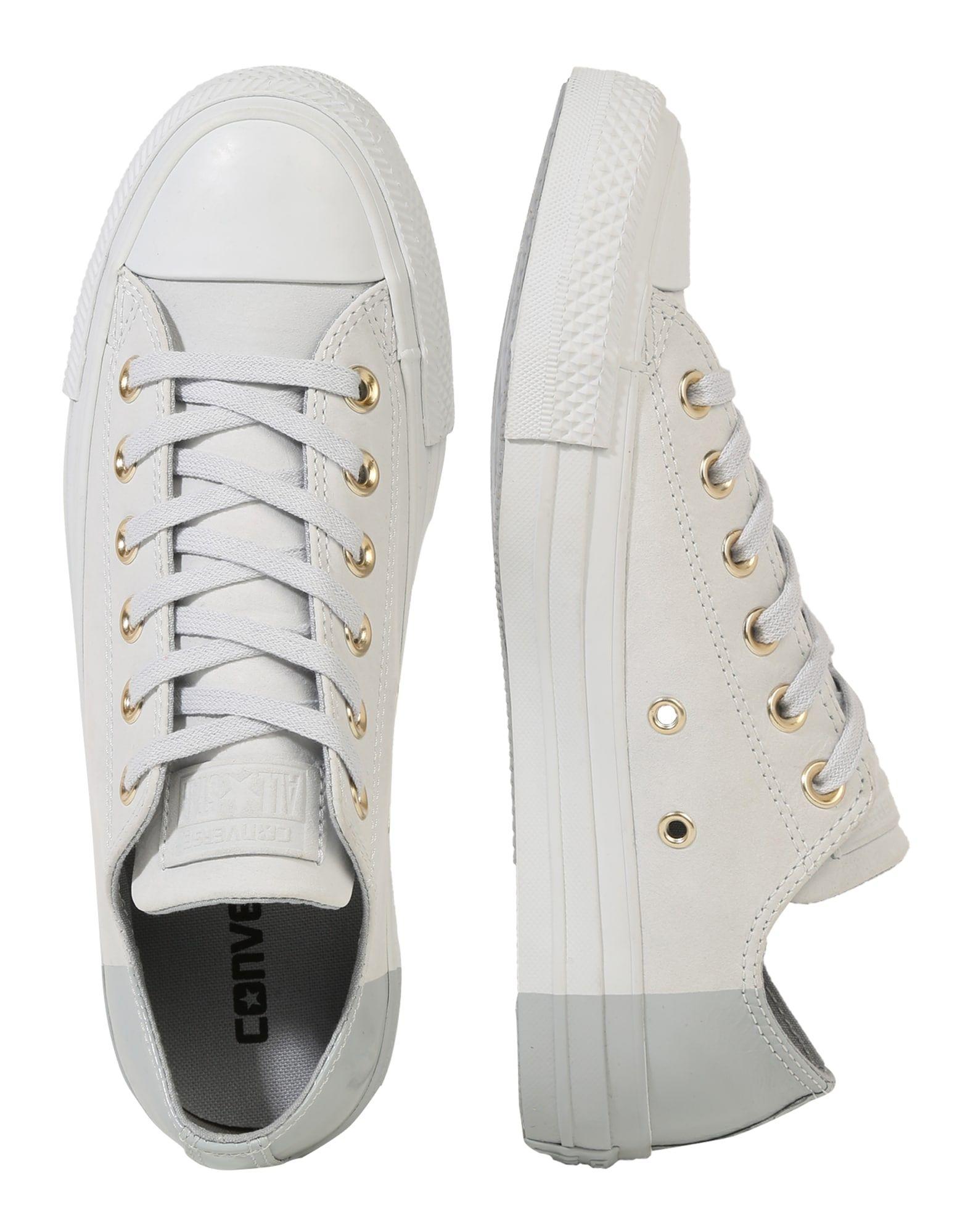 CONVERSE Sneaker 'CHUCK TAYLOR ALL STAR OX' Damen, Grau