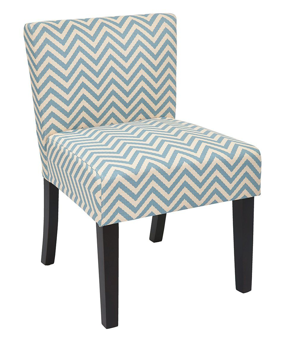 Take a look at this Ziggy Mist Chevron Bristol Desk Chair ...