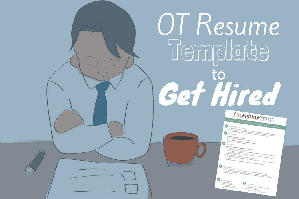 Premium  Free Occupational Therapy Resume Template Download