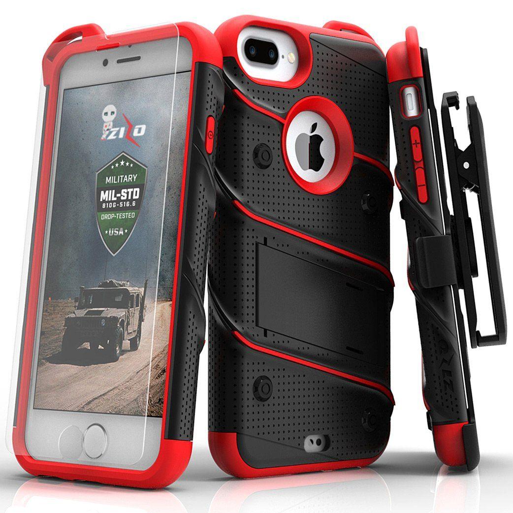 Apple iphone 7 plus zizo bolt heavy duty rugged case