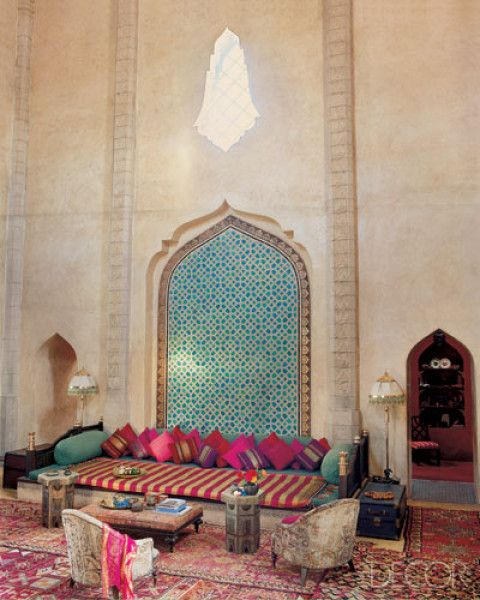 soft not scorching pink | moroccan interiors