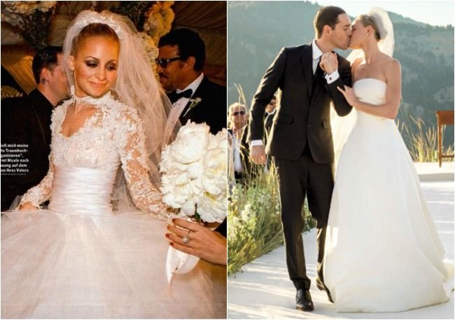 Image result for nicole richie wedding gown | Noelle | Pinterest ...