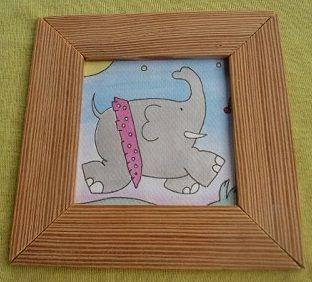 C mo hacer marcos para tus cuadros - Como hacer un marco para un cuadro ...