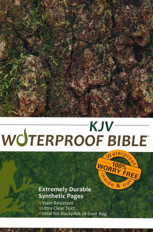 KJV Waterproof Bible, Camouflage | Marine stuff♥ | Waterproof bible