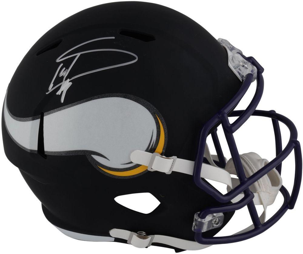 b40301ad Autographed Stefon Diggs Vikings Helmet Fanatics Authentic COA Item ...