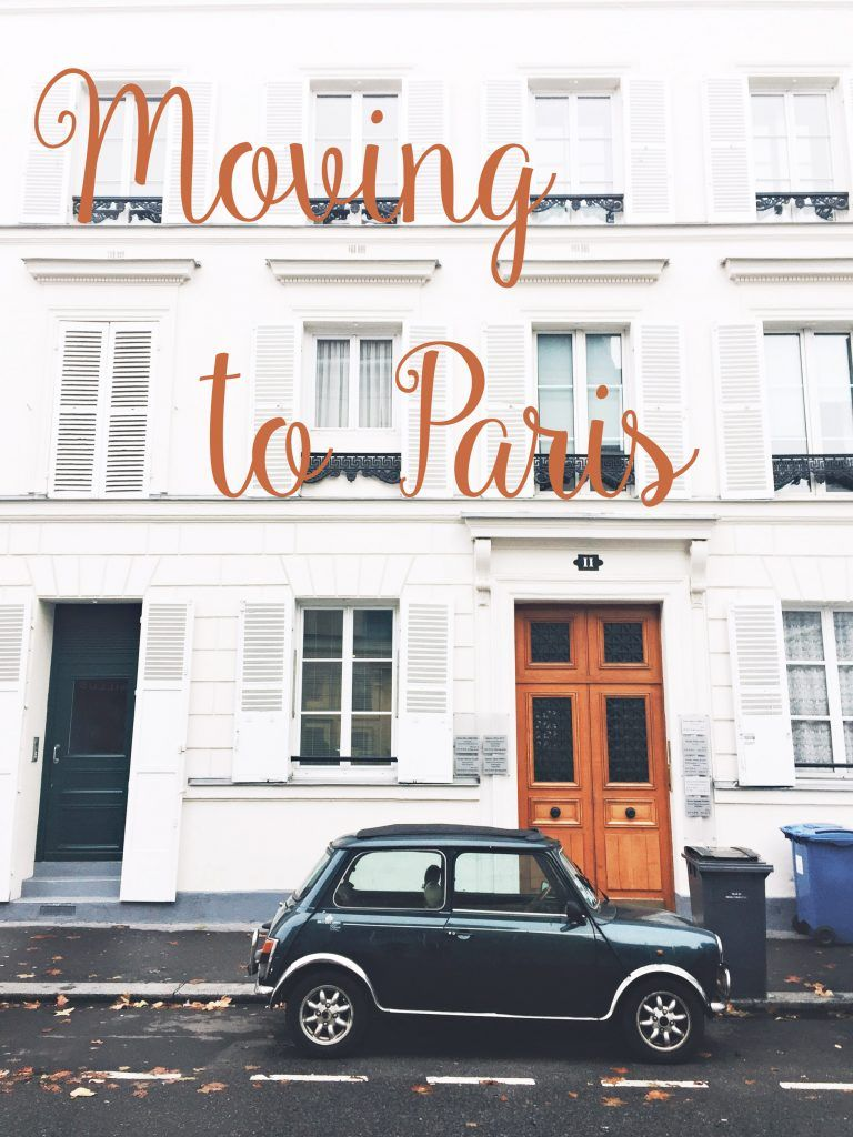 Moving To Paris