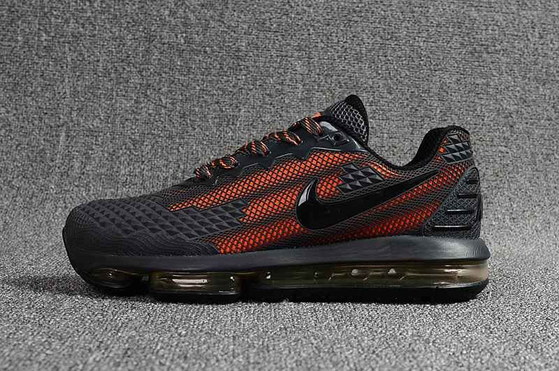 low priced 8125c 576bc NIKE Air MAX 2019 KPU Carbon Grey Orange Men Shoes