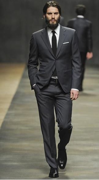 charcoal suit with black suits | The Dapper Gentleman | Pinterest ...