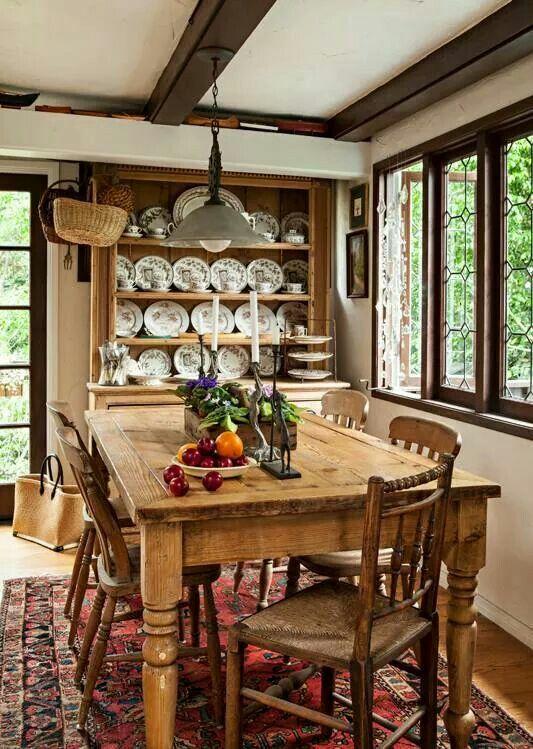 Comedor rustico decoraciones decoraciones de casa for Decoraciones rusticas para el hogar