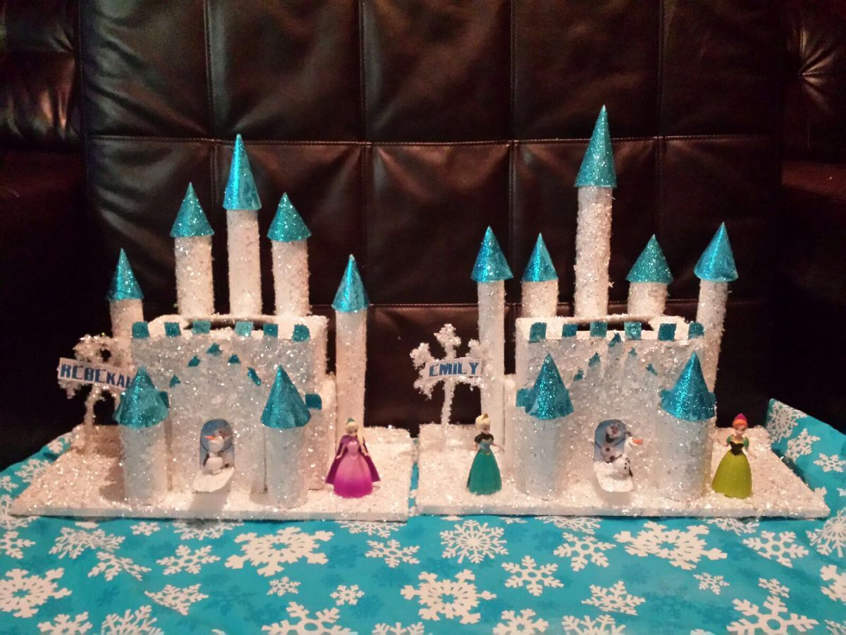 frozen valentine boxes for girls paper towel tubes for the towers shoe boxes for - Valentine Boxes For Girls
