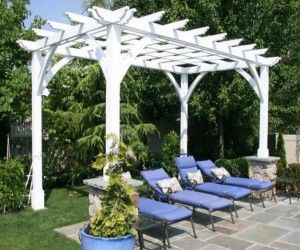 Best 7 Extraordinary Contemporary Pergola Ideas