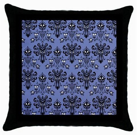 haunted mansion pillow / haunted mansion wallpaper pattern