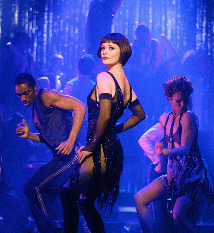 "Catherine Zeta Jones in ""Chicago"" Chicago musical"