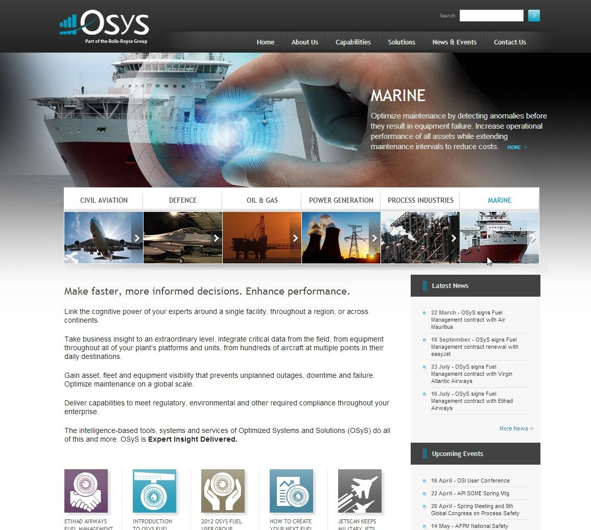 Wordpress Website Design Contract: Website design for Optimized Systems and Solutions a Rolls-Royce rh:pinterest.com,Design