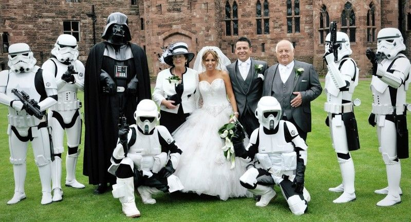 Weddings Ideas // Star Wars Theme // Geek Wedding Ideas #starwars #geek #wedding