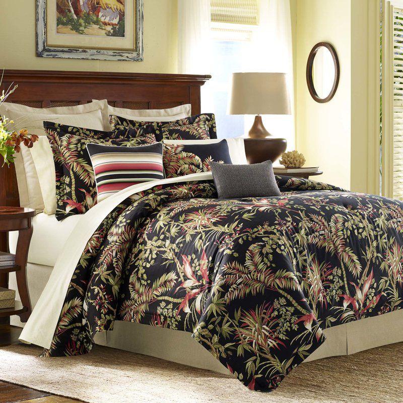 Jungle Drive 4 Piece Cotton Comforter Set Tommy Bahama