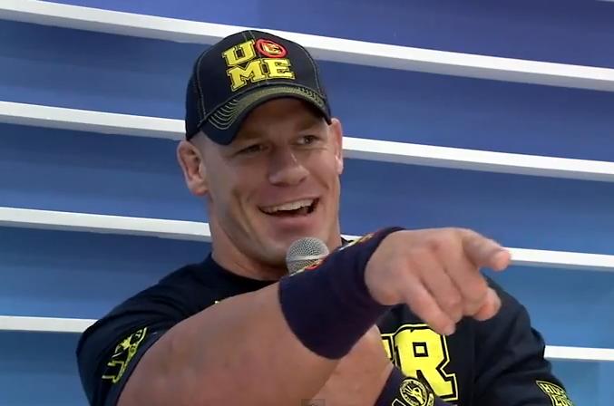 Twelve Time Wwe World Champion John Cena Joins What S Trending At The Sxsw Samsung Blogger Loung To Talk Smac John Cena Wwe Superstar John Cena Wrestlemania 29