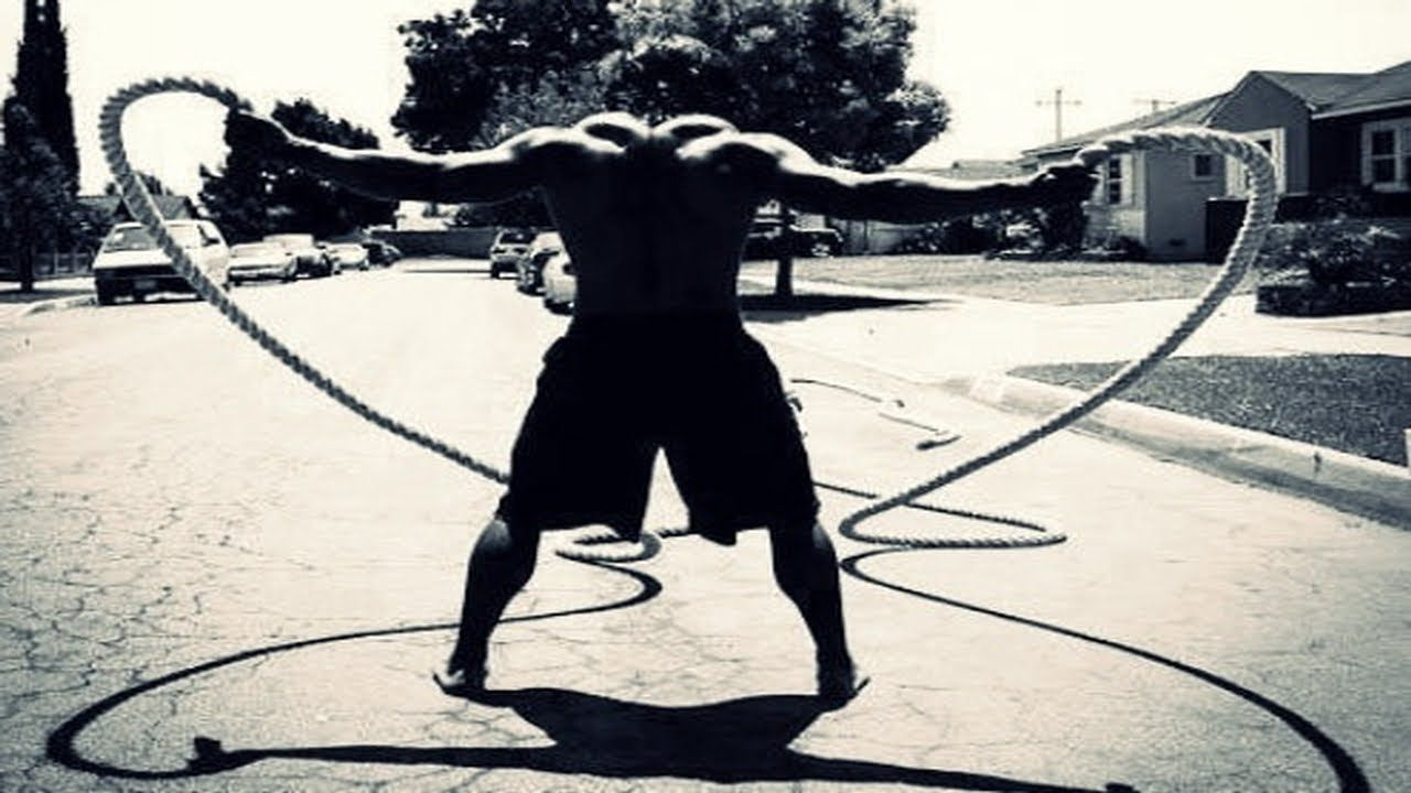 new battle rope workout