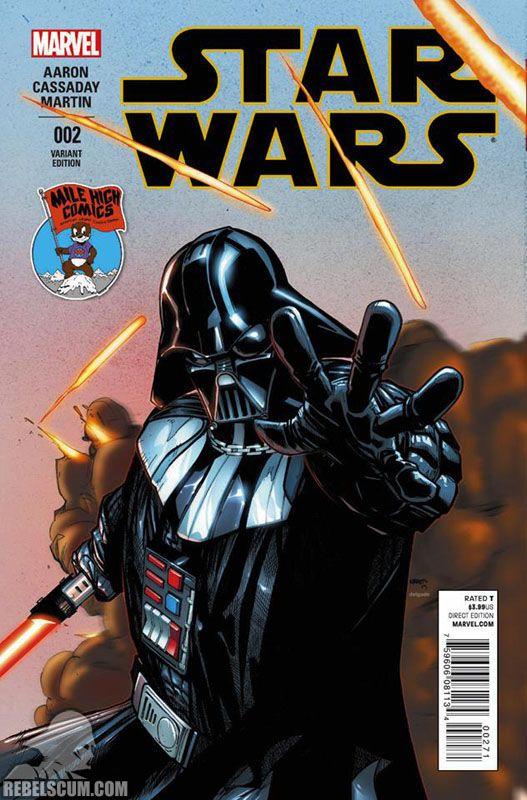 Mvswstarwars002 Milehighcomics 2015 Star Wars Comic Books Vader Star Wars Star Wars Comics