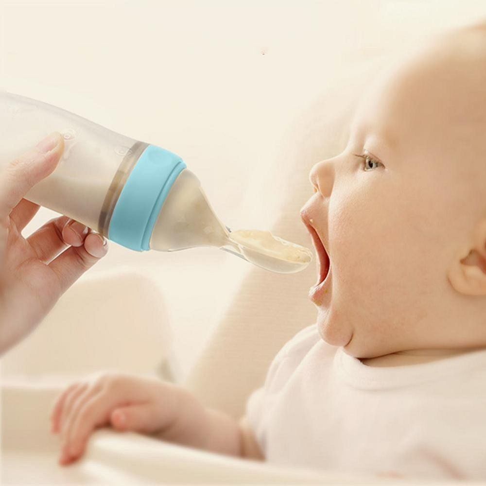Baby Bottle Food Squeezer Easily Mess Free Feed Your Baby
