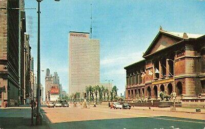Postcard Michigan Avenue Chicago Illinois   eBay