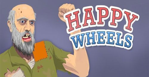 Total Jerkface Happy Wheels Is A Free Action Game That